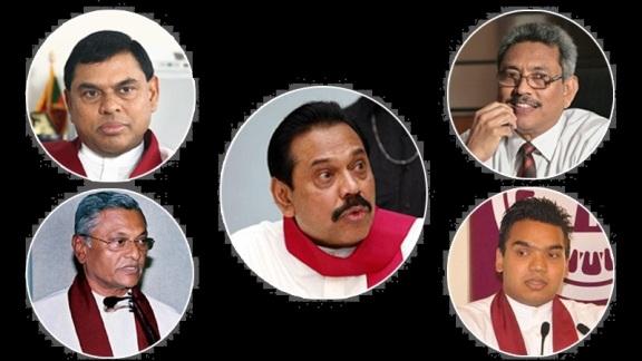 rajapakasha-family