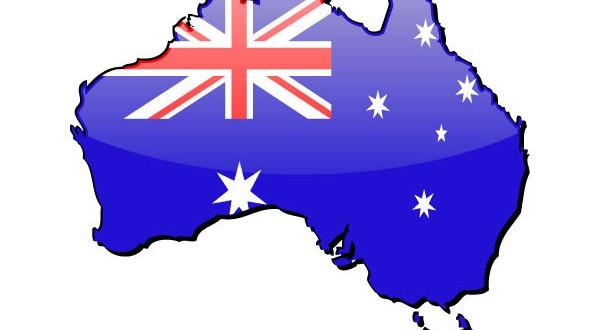 australia-map-flag